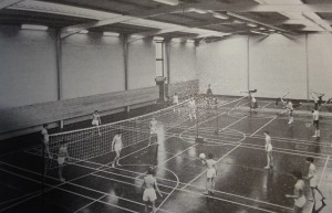 Early school sports hall - Totnes