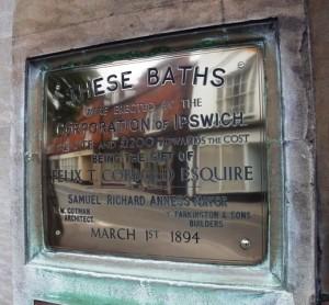 Historic Swimming Baths Ipswich