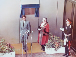 Prince Charles - Crowtree opening 1978