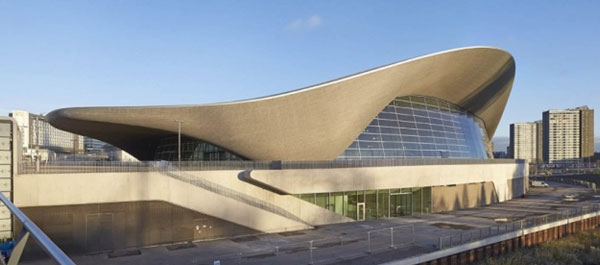 London Aquatics Centre: Olympics 2012 Pool Architects: Zaha Hadid & Space + Place