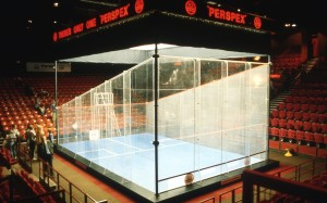 Glass Squash Court Event Warrington Spectrum
