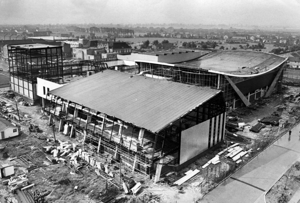 1966 Billingham Forum construction