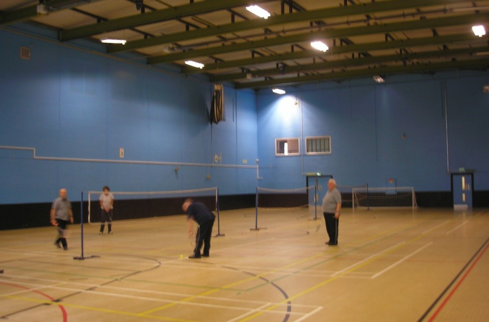 Ponteland Sports Hall - still in use 2017