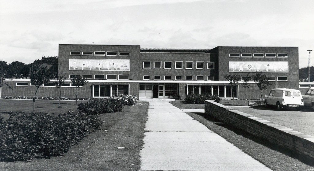 Stockton Sports Centre c1972 Courtesy of Stockton Archives - Libraries & Heritage