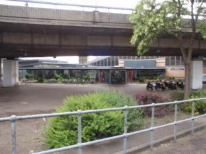 Westway entrance